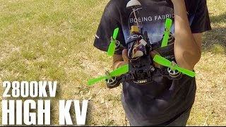 getlinkyoutube.com-2800KV Motor Test - ZMR 180 Carbon FPV