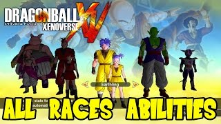 getlinkyoutube.com-Dragon Ball Xenoverse: All Races Special Abilities & Attributes (Plus Frieza Race Theory)