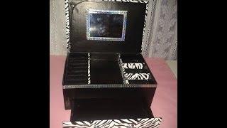 getlinkyoutube.com-Alhajero hecho con una caja de zapatos