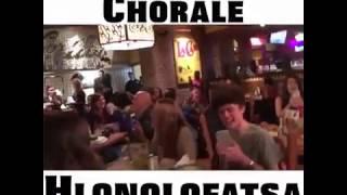 Belmont University Choir singing Hlonolofatsa