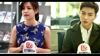 getlinkyoutube.com-The Interview Chen Xiao and Michelle Chen in The Condor Heroes 2014[Full]
