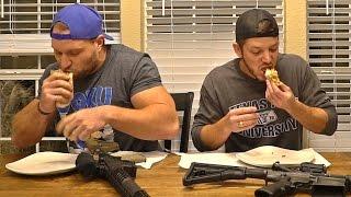 Burrito Eat Off vs Demolition Ranch! (TEXAS EDITION)