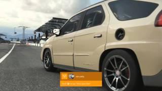 getlinkyoutube.com-Forza 6 TWIN TURBO V8 SWAP Pontiac Aztek DRIFT BUILD