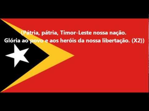 Hymne national du Timor Oriental