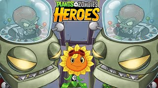 getlinkyoutube.com-Plants vs. Zombies Heroes - Zomboss Battle Mission 13: A Fun Dead Education! (PvZ Heroes)