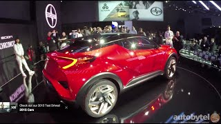 getlinkyoutube.com-Scion C-HR Concept Car World Debut Video @ LA Auto Show 2015