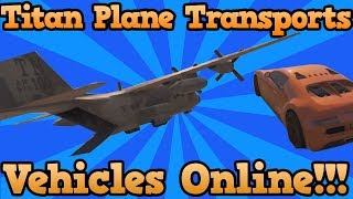 getlinkyoutube.com-GTA 5 Online: MYTHBUSTERS - Is Titan Plane A Cargo Plane? Cargo Plane Solved (Grand Theft Auto 5)