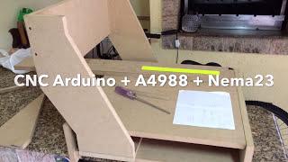 getlinkyoutube.com-CNC Homemade Arduino + Nema 23 + A4988 Pololu