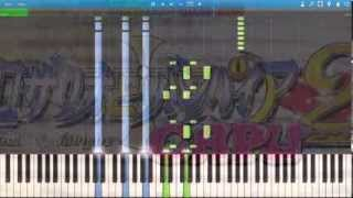 "getlinkyoutube.com-Rosario + Vampire Capu2 - Opening ""Discoteque"" - Synthesia Piano HD"