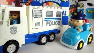 getlinkyoutube.com-Мультик про полицейские машины. Кража машины. Police car