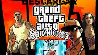 getlinkyoutube.com-Descargar GTA SAN ANDREAS MOD dragon ball z para pc 2016