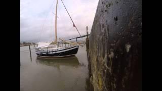 Thorfinn bei Niedrigwasser - Januar 2015, GoPro4, Timelapse, 4K