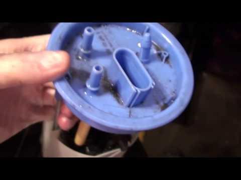 Замена сетки топливного насоса Skoda/fuel pump fine filter replacement