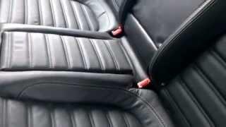 getlinkyoutube.com-VW Passat CC Rear seat conversion kit. 5 Passenger modification