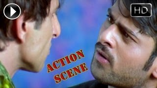 getlinkyoutube.com-Ek Niranjan Movie | Action Between Sonu Sood, Kailash & Prabhas