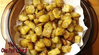 getlinkyoutube.com-Seasoned Roast Potato Bites | One Pot Chef