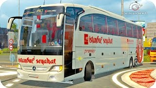 getlinkyoutube.com-Mercedes Travego Bus ETS2 (Euro Truck Simulator 2)