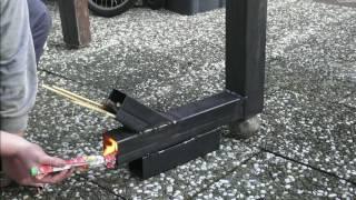 Raketen Ofen/Rocket Stove Teil 1/Part 1