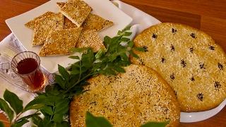Rote Afghani / Afghan Sweet Bread / طرز وتهیه روت افغانی