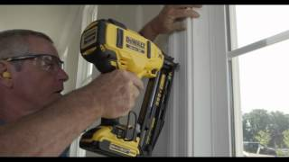 getlinkyoutube.com-DEWALT DCN660 16 GA 20v MAX* FINISH NAILER
