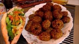 getlinkyoutube.com-اكلات عراقيه ام زين -فلافل -