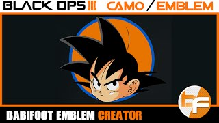 getlinkyoutube.com-Black Ops 3 Emblem Tutorial #003 - Son Goku #Babifoot