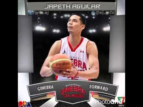 BARANGAY GINEBRA  Commissioner's Cup Players