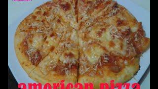 Resep Cara Membuat Adonan Pizza   American Pizza