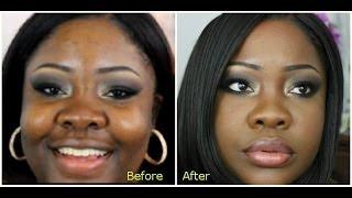 "Makeup For Black Skin ""Black Up Cosmetics"""