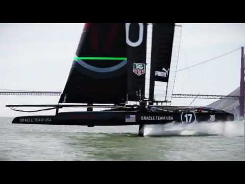 ORACLE TEAM USA - Fun on Foils