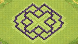 getlinkyoutube.com-Clash of Clans Town Hall 7 Defense (CoC TH7) BEST Farming Base Layout Defense Strategy