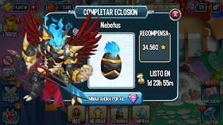 getlinkyoutube.com-Monster Legends l Monstruos Legendarios l Monstruo Nebotus