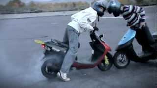 getlinkyoutube.com-Stunt suzuki lets Krasnoyarsk