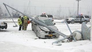 getlinkyoutube.com-#15 Очень страшные Аварии ЗИМА Январь 2016 - ДТП Car Crash Compilation winter HD