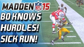 getlinkyoutube.com-Madden 15 Ultimate Team - BO KNOWS HURDLES! THE REMATCH! - MUT 15