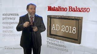 Balasso, discorso di capodanno 2018