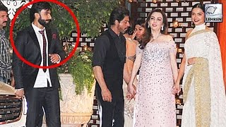 getlinkyoutube.com-Shahrukh Khan AVOIDS Ranveer Singh At Ambani's Party  | LehrenTV