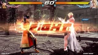 getlinkyoutube.com-Tekken 7 : Fated Retribution ~ Ling Xiaoyu VS Nina Williams (Location Test)