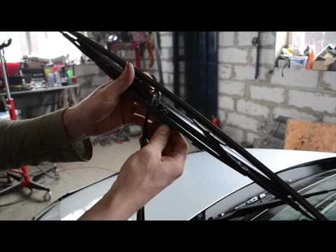 Замена щеток стеклоочистителя VW Polo Sedan