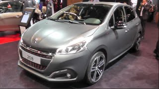 getlinkyoutube.com-Peugeot 208 GT-Line 2016 In detail review walkaround Interior Exterior