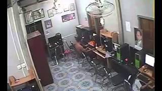 กล้องPeople Fu CCTVจับภาพเด็กขโมยเงิน