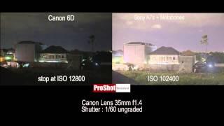 getlinkyoutube.com-Sony A7s vs Canon 6D : Low Light Test