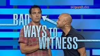 getlinkyoutube.com-Skit Guys - Bad Ways to Witness