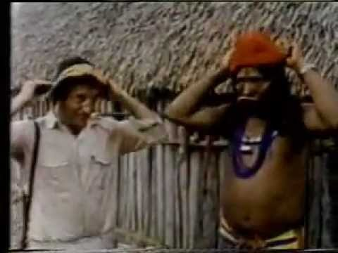 Jacques Cousteau no Brasil - Índios do Xingu - Xingu Indians.