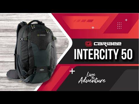 Caribee Intercity Travel Backpack - Black