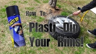 getlinkyoutube.com-How To: Blackout/Plasti Dip Your Rims! (Full Process)