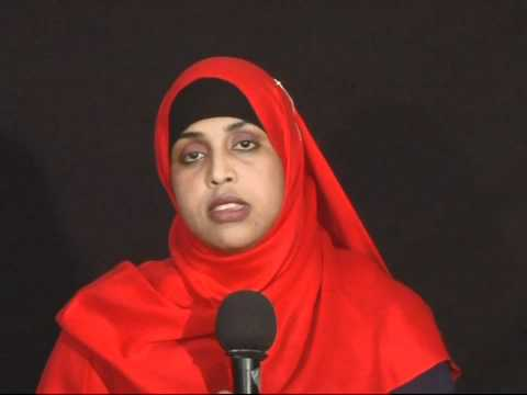 Hodan Hassan, a women activist 'How Muslim women are treated after 9-11 attacks'