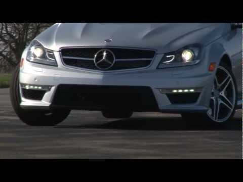 2012 Mercedes-Benz C63 AMG - Drive Time Review with Steve Hammes
