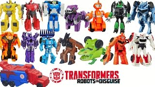 getlinkyoutube.com-FULL COLLECTION 24 TRANSFORMERS ROBOTS IN DISGUISE ONE STEP CHANGERS TRANSFORM