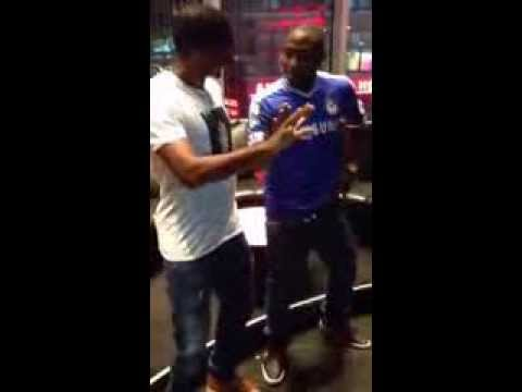 @iam_Davido and Samuel Eto'o dancing to Skelewu (AFRICAX5)